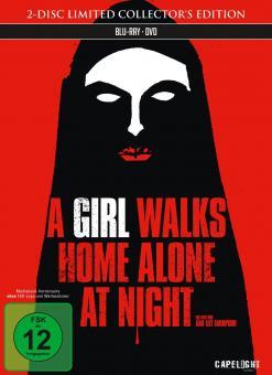 A Girl Walks Home Alone at Night (Limited Mediabook, Blu-ray+DVD) (2014) [Blu-ray]