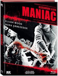 Alexandre Ajas Maniac (Limited Uncut Mediabook, Blu-ray+DVD, Cover B) (2012) [FSK 18] [Blu-ray]