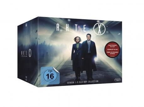 Akte X - Die komplette Serie (55 Discs) [Blu-ray]