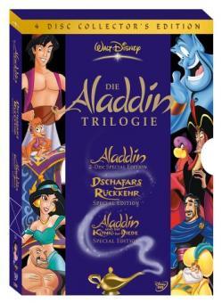 Aladdin - Die Trilogie (Collector's Edition, 4 DVDs)