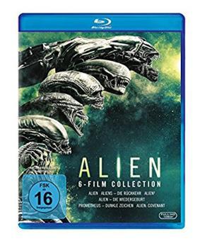 Alien 1-6 (6 Discs) [Blu-ray]
