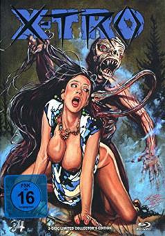 X-Tro - Nicht alle Außerirdischen sind freundlich (Limited Mediabook, Blu-ray+DVD+CD-Soundtrack, Cover J) (1982) [Blu-ray]
