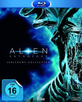 Alien Anthology (Jubiläums Collection, 4 Discs) [Blu-ray]
