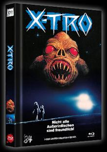 X-Tro - Nicht alle Außerirdischen sind freundlich (Limited Mediabook, Blu-ray+DVD, Cover B) (1982) [Blu-ray]