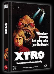 X-Tro - Nicht alle Außerirdischen sind freundlich (Limited Mediabook, Blu-ray+DVD, Cover D) (1982) [Blu-ray]