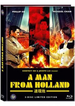 A Man from Holland (Drug Connection) (Limited Mediabook, Blu-ray+DVD, Cover B) (1986) [FSK 18] [Blu-ray]