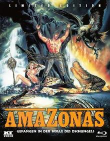 Amazonas - Gefangen in der Hölle des Dschungels (Kleine Hartbox) (1985) [FSK 18] [Blu-ray]