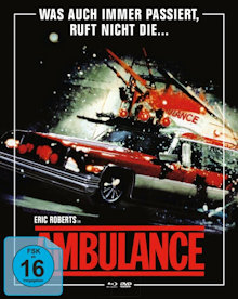 Ambulance (3 Disc Limited Mediabook, Blu-ray+2 DVDs, Cover B) (1990) [Blu-ray]