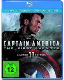 Captain America (3D Blu-ray+Blu-ray+DVD und Digital Copy) (2011) [3D Blu-ray]