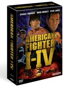 American Fighter I-IV (4 DVD Boxset)