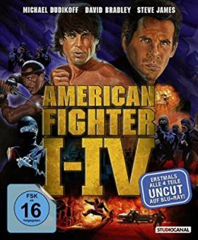 American Fighter I-IV (4 Disc Boxset) [Blu-ray]