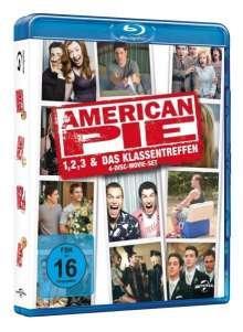 American Pie - Teil 1, 2, 3 & Das Klassentreffen (4 Disc Limited Edition) [Blu-ray]