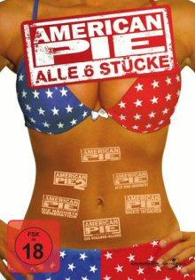 American Pie 1-6 - Fan-Box (6 DVDs) [FSK 18]