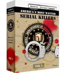 America's Most Wanted Serial Killers, Vol. 1 (3 DVDs) [FSK 18]