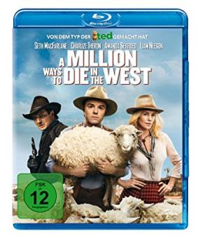 A Million Ways to Die in the West (2014) [Blu-ray]