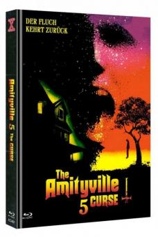 Amityville 5 - The Curse (Limited Mediabook, Blu-ray+DVD, Cover A) (1990) [FSK 18] [Blu-ray]