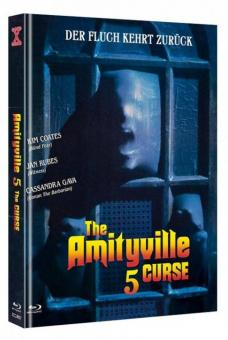Amityville 5 - The Curse (Limited Mediabook, Blu-ray+DVD, Cover B) (1990) [FSK 18] [Blu-ray]