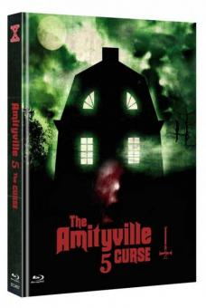 Amityville 5 - The Curse (Limited Mediabook, Blu-ray+DVD, Cover C) (1990) [FSK 18] [Blu-ray]