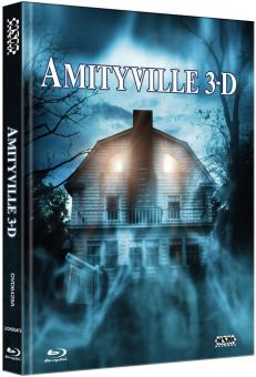 Amityville Horror 3 (Limited Mediabook, Blu-ray+DVD, Cover A) (1983) [FSK 18] [Blu-ray]