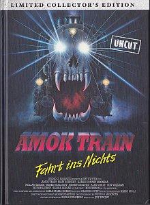 Amok Train (Limited Mediabook, Blu-ray+DVD, Cover C) (1989) [FSK 18] [Blu-ray]