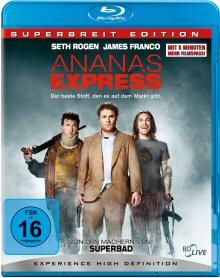 Ananas Express - Superbreit Edition (inkl. Wendecover) (2008) [Blu-ray]
