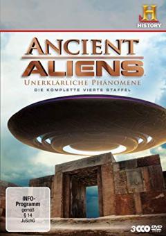 Ancient Aliens - Unerklärliche Phänomene, Staffel 4 (3 DVDs)