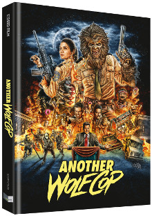 Another WolfCop (Limited Mediabook, Blu-ray+DVD, Cover B) (2016) [FSK 18] [Blu-ray]