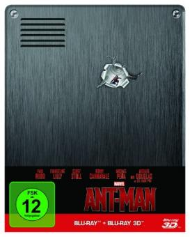 Ant-Man (Limited Steelbook, 3D Blu-ray+Blu-ray) (2015) [3D Blu-ray]