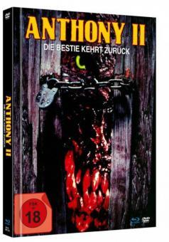 Anthony II - Die Bestie kehrt zurück (Limited Mediabook, Blu-ray+DVD) (1989) [FSK 18] [Blu-ray]