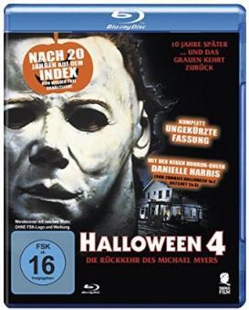 Halloween 4 - The Return of Michael Myers (Uncut) (1988) [Blu-ray]