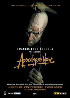 Apocalypse Now - Full Disclosure (inkl. Apocalypse Now / Apocalypse Now Redux / Hearts of Darkness) (4 DVDs Deluxe Edition im Steelbook) (1979)