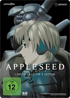 Appleseed - The Movie (Deluxe Edition, Steelbook, 2 DVDs) (2004)