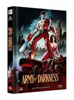 Die Armee der Finsternis - Tanz der Teufel 3 (Limited Mediabook, 3 Discs, Cover B) (1992) [Blu-ray]