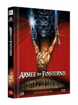 Die Armee der Finsternis - Tanz der Teufel 3 (Limited Mediabook, 3 Discs, Cover C) (1992) [Blu-ray]