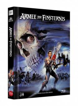 Die Armee der Finsternis - Tanz der Teufel 3 (Limited Mediabook, 3 Discs, Cover D) (1992) [Blu-ray]