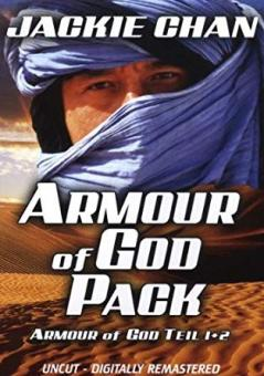 Armour of God Teil 1+2 (Uncut Version, 2 DVDs im Steelbook)