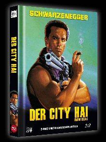 Der City Hai (Limited Mediabook, Blu-ray+DVD, Cover B) (1986) [Blu-ray]