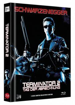 Terminator 2 (Limited Mediabook, Blu-ray+DVD, Cover B) (1991) [Blu-ray]