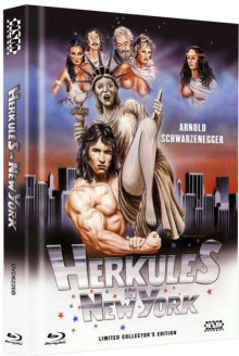 Herkules in New York (Limited Mediabook, Blu-ray+DVD, Cover B) (1970) [Blu-ray]