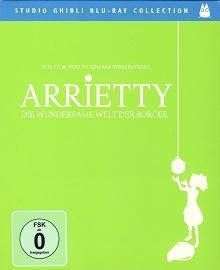 Arrietty - Die wundersame Welt der Borger (2010) [Blu-ray]
