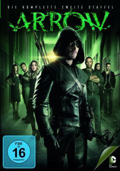Arrow - Die komplette zweite Staffel (5 DVDs)