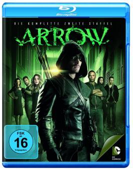 Arrow - Die komplette zweite Staffel (4 Discs) [Blu-ray]