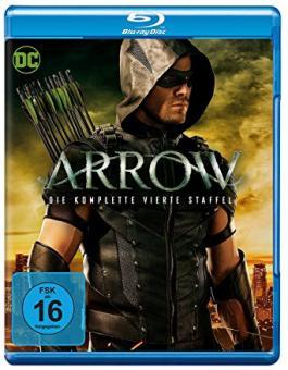 Arrow - Die komplette vierte Staffel (4 Discs) [Blu-ray]