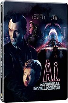 A.I. Künstliche Intelligenz (Limited Steelbook) (2001) [UK Import mit dt. Ton] [Blu-ray]