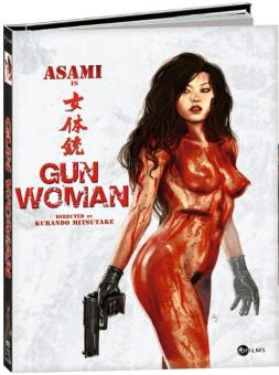 Gun Woman (Limited Mediabook Edition, Blu-ray+DVD, Limitiert auf 999 Stück, Cover B) (2013) [FSK 18] [Blu-ray]