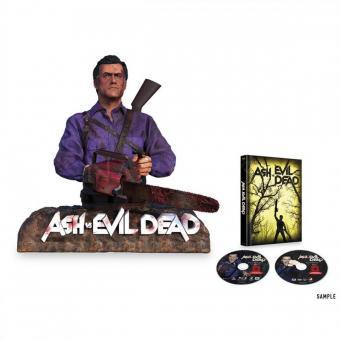 Ash vs Evil Dead - Die komplette Season 1 (Limited Edition, Mediabook inkl. Ash Büste) [FSK 18] [Blu-ray]