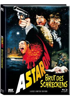Astaron (Limited Mediabook, Blu-ray+2 DVDs, Cover A) (1980) [FSK 18] [Blu-ray]