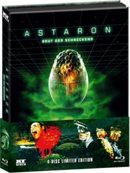 Astaron (4 Disc Limited Wattiertes Mediabook, Blu-ray+3 DVDs) (1980) [FSK 18] [Blu-ray]