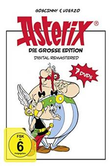 Asterix - Die große Edition  (7 DVDs)