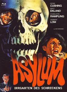 Asylum (Limited Mediabook, Blu-ray+DVD, Cover B) (1972) [FSK 18] [Blu-ray]